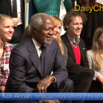 "Kofi Annan: ""No war in Europe"""