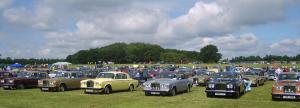 Honderden Rolls-Royces en Bentley verzamelden zich dit weekend in Engeland.
