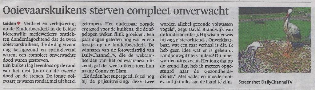 Het Leidsch Dagblad van 1 juni 2017