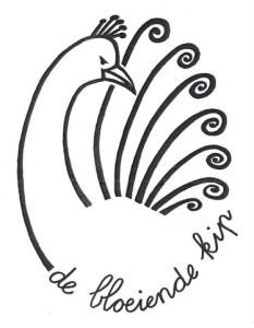 Bloeiende Kip-logo