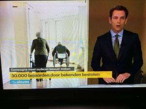 RTL Nieuws: 30.000 bejaarden bestolen