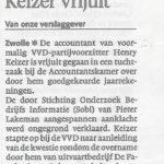 Lakeman in hoger beroep tegen vrijspraak accountant VVD partijvoorzitter